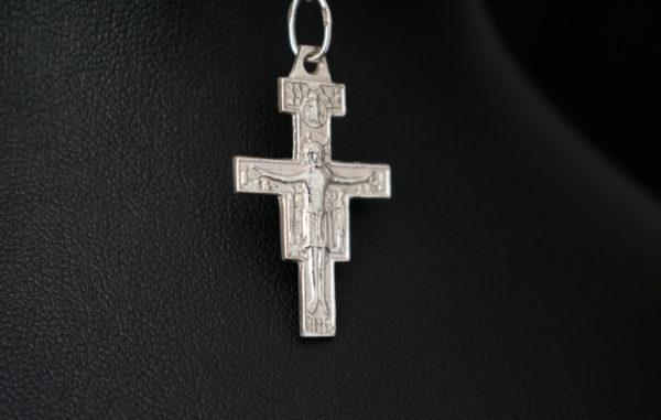 krzyżyk srebrny franciszkański
